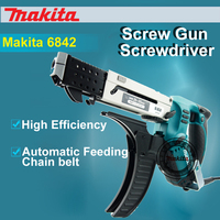 Original Makita 6842/6843 Light Steel Keel Container House Automatic Feeding Chain With Screw Injectors Screwdriver 470W