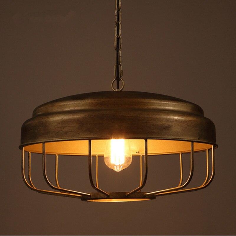 Nordic Modern Simple Restaurant Living Room Study Bedroom Decor Lights Originality Personality Bar Counter Lid Iron Chandelier