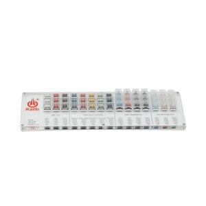 Image 2 - مفاتيح Kailh 45 مفتاح انظار لوحة المفاتيح الميكانيكية تشوك فاحص عدة كابس شفافة واضحة لأداة اختبار قبعات العينات