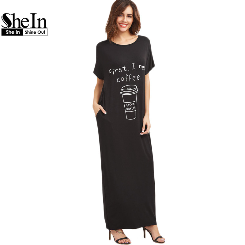 Popular Maxi Tee Dress-Buy Cheap Maxi Tee Dress lots from China ...
