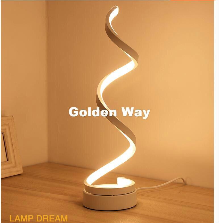 Бесплатная доставка Современные Простые настольная лампа Спальня прикроватные творческий подарок свадебный номер Nordic теплый LED D15cm H50cm 20 Вт...