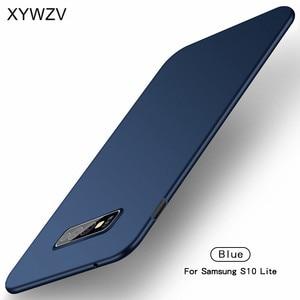 Image 3 - サムスンギャラクシー S10E ケース Silm 高級超薄型ハード PC 電話ケース S10e カバーサムスン S10E