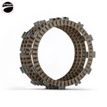 Motorcycle Clutch Friction Plates Kit For Beta RR 125 2006- Honda NSR 75 92-00 MB 80 1980- MBX 80 1983- MCX 80 1983-(China)