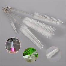 4pcs/set Nylon Kettle Bottle Cup Brush Set Baby Nipple Brushs Cleaning Kit