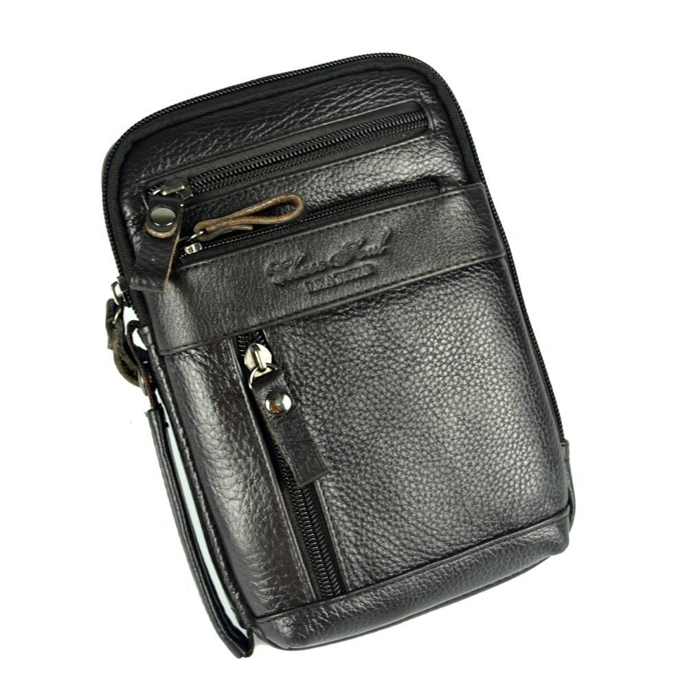 Aliexpress.com : Buy Genuine leather small messenger bags for men ...