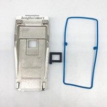 Honghuisamrt z tyłu płyta aluminiowa do motorola gp3188 ep450 gp3688 itp walkie talkie dla wymiana naprawa