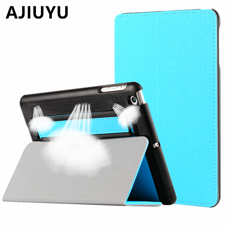 AJIUYU For iPad Air Case Smart Cover Protective Protector Leather PU Tablet For Apple iPadAir Sleeve A1474 A1475 Air1 Cases 9.7 nice soft silicone back magnetic smart pu leather case for apple 2017 ipad air 1 cover new slim thin flip tpu protective case
