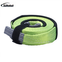 5M Car Tensioning Belts Loading Capacity For 5 Tons Tow Strap Car Tow Cable Towing Strap