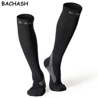 1 Pair Compression Socks Cycling Sports Stockings For Hiking Running Marathon Football Men Women Athletic Riding