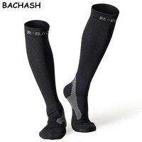 1 Pair Compression Socks Cycling Sports Stockings For Hiking Running Marathon Football Men Women Athletic Riding