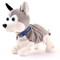 5 Kinds Sound Control Electronic Dogs Interactive Electronic Pets Robot Dog Bark Stand Walk Electronic Toys