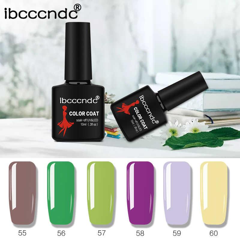 IBCCCNDC 10ml Taban pardösü UV Jel Oje Renkli Kapalı Islatın Uzun Ömürlü Astar Boya Vernik Yarı Kalıcı Jel lak