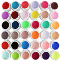 36 Pure Color UV Gel Solid Nail Art Products Use UV Lamp For Manicure Kits
