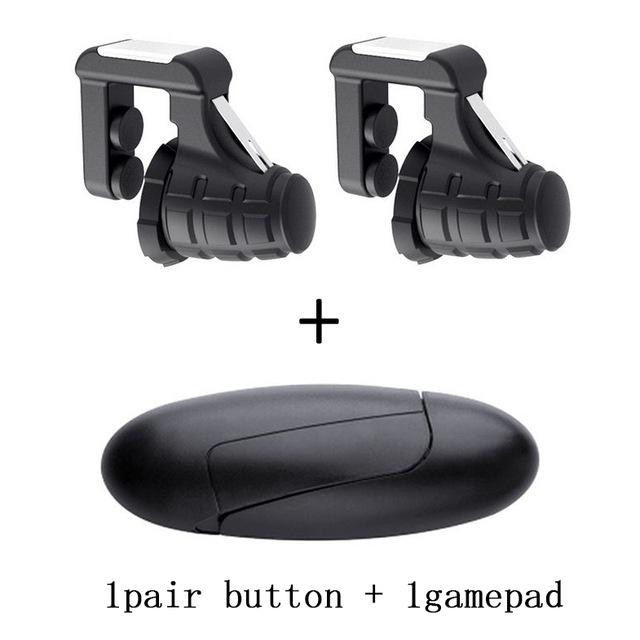 Image 5 - Pubg Mobile Gamepad Pubg Controller for Phone L1R1 Grip with Joystick / Trigger L1r1 Pubg Fire Buttons for iPhone Android IOS-in Gamepads from Consumer Electronics