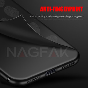 Image 4 - NAGFAK Silicone Phone Case for Xiaomi Redmi Note 4 Note 4X Global Version Note4 Cover Matte Soft Protective Phone Bags Case Capa