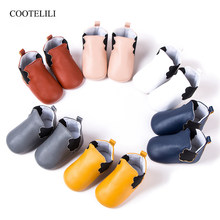 COOTELILI Newborn Baby Shoes Moccasins Winter Autumn Baby Girls Boys First Walker Shoes PU Leather Boots Toddler shoes For Kids(China)