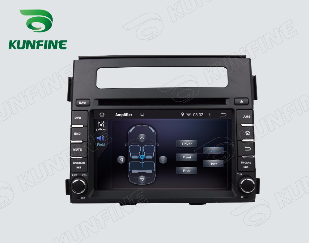 Car dvd GPS Navigation player for KIA SOUL 2013-2014 6.2 inch B