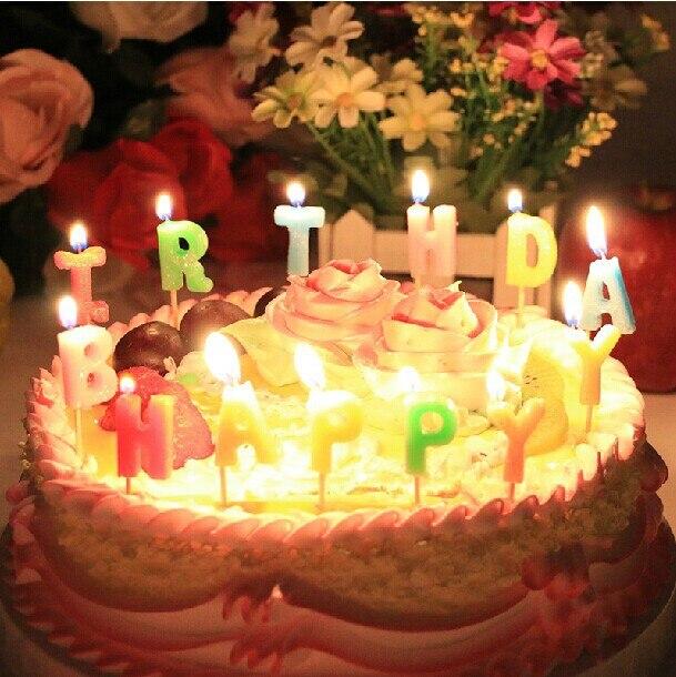 Happy Birthday Candles creative romantic birthday birthday ...