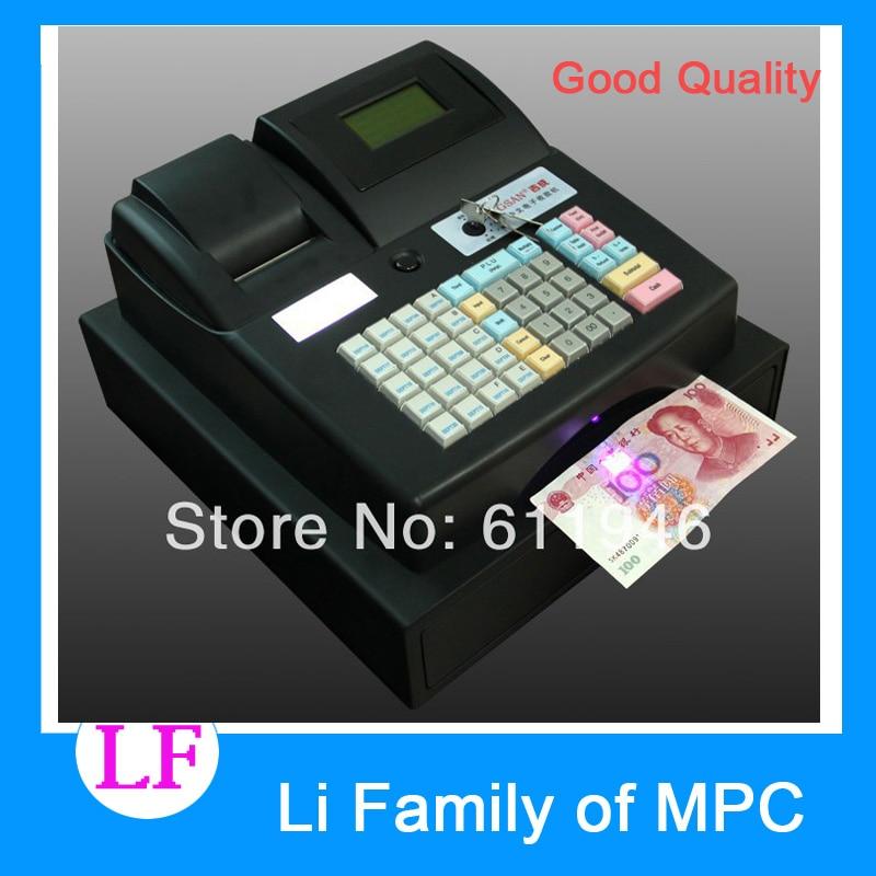 GS-686E Electronic Cash Register pos cash register cheap 15 restaurant cash register pos machine pos1618
