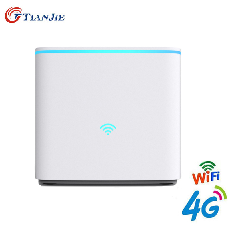 4G LTE Wifi Router Cpe Mobile Hotspot FDD TDD With Sim Card Slot Unlock Modem 3G 4G Wireless Broadband WAN/LAN Port Gateway цена в Москве и Питере