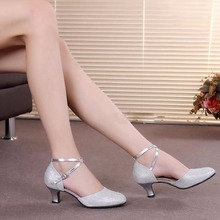 New Adult women modern high heel latin tango salsa dancing s