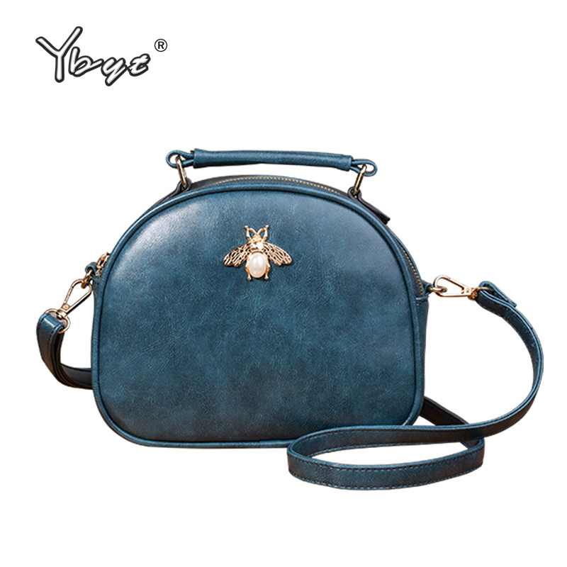 YBYT Brand 2019 New Joker Leisure Shoulder Messenger Crossbody Bags Fresh Women Satchel Ladies Shopping Pack Fashion Evening Bag