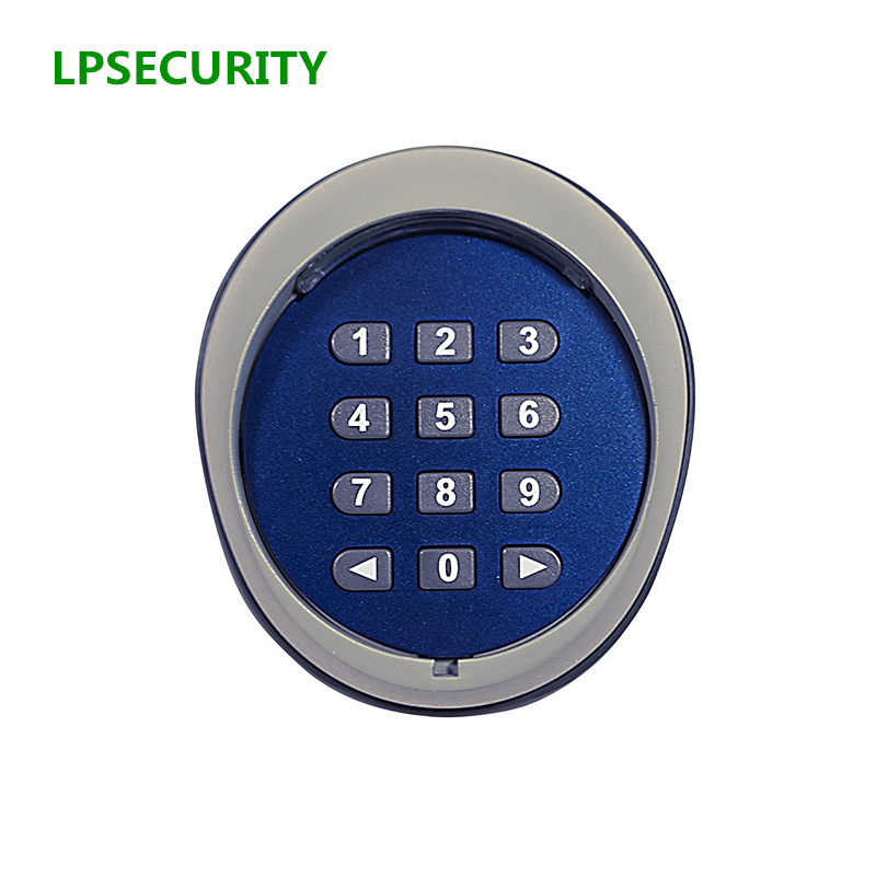 LPSECURITY Door Lock Access Control Wireless Keypad password switch kit for CAME FAAC BFT gate door MOTOR access control lpsecurity 4g hand free apartment door or gate access control wireless gsm keypad audio intercom system