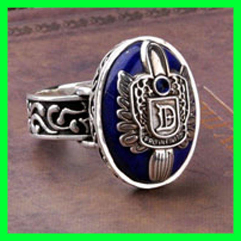 Vampire Diaries Damon Salvatore Ring D Stefan Salvatore Crest Vintage Fashion Jewelry Hot Sales