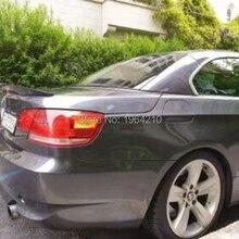 Углеродное волокно Задняя накладка на Багажник крыло багажника для BMW 3 серии E93 325i 328i 330i 335i 2 двери Кабриолет E93 M3 P Стиль 2007-2013