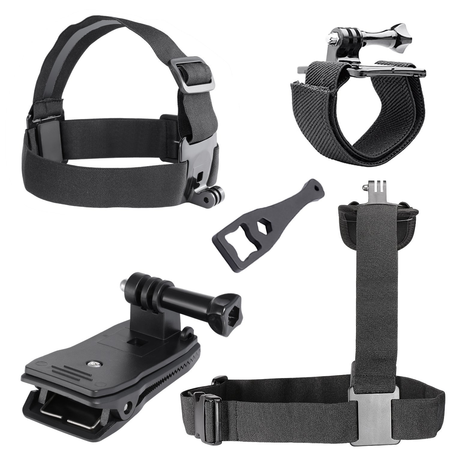 6-in-1 game External sports indispensable accessories for Gopro Hero4 Hero 1 2 3 3+SJ400 ...