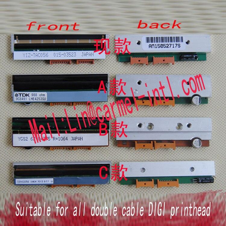 New Original DIGI 80LP/SM100 sm90 sm-100 THERMAL PRINT HEAD   new type SM300 sm g361hhadser