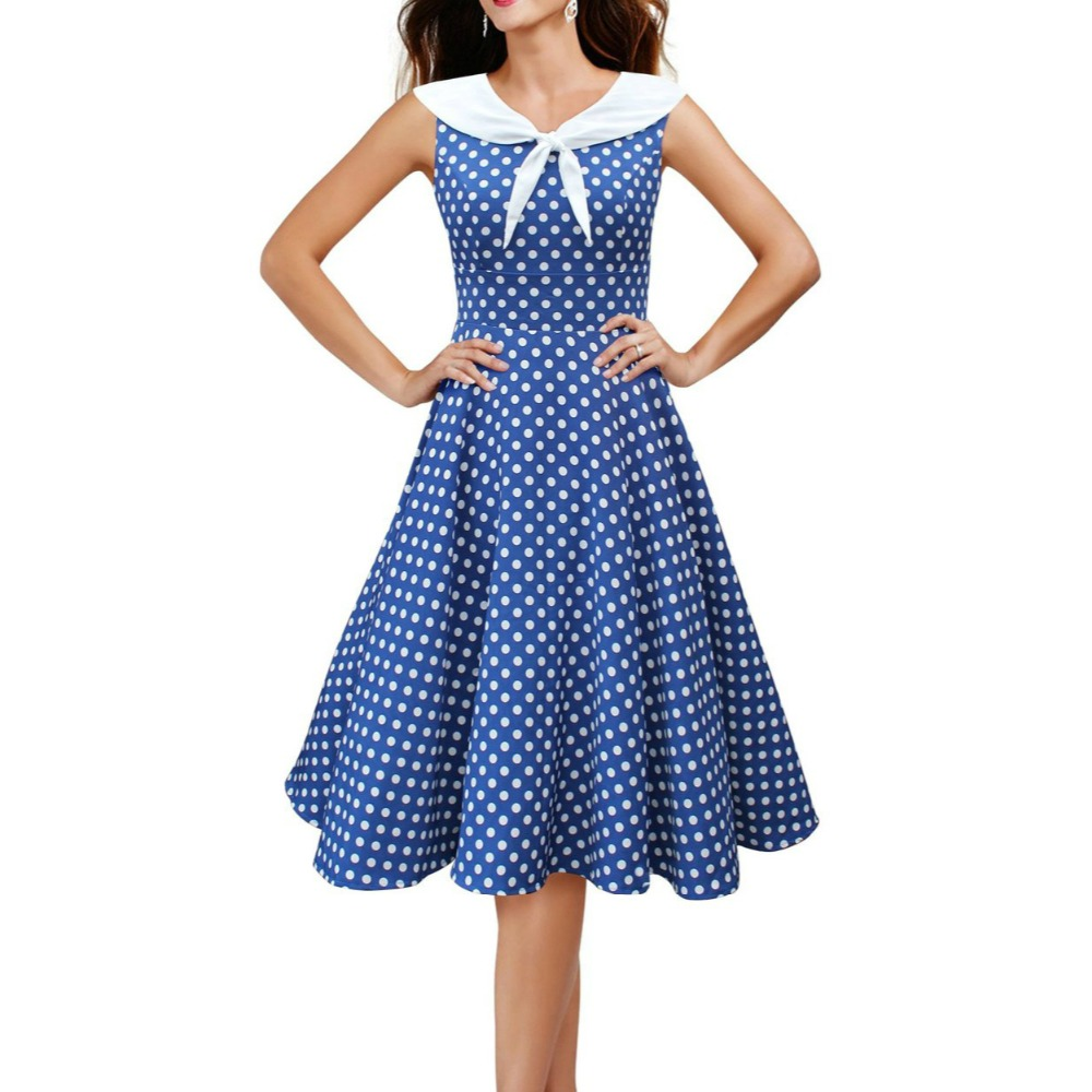 03f12340457 Audrey-Hepburn-style -vintage-col-marin-bleu-dots-big-swing-robe-robe-femmes-rockabilly-prom-cocktail.jpg