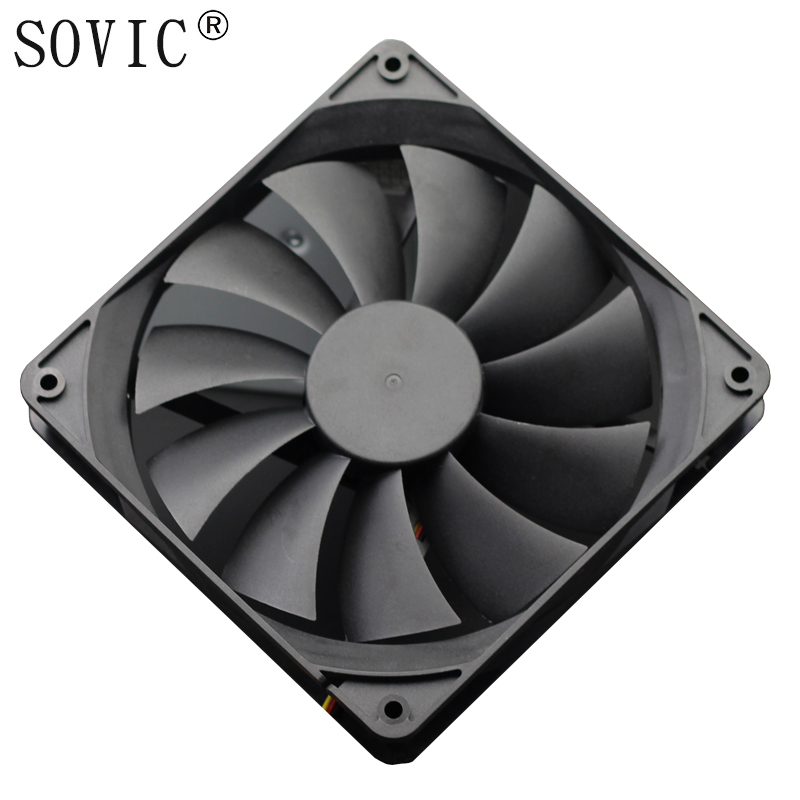 3PIN 140mm DC 12V  Miner Mining Case Cooling Fan For BTC Miner Bitcoin Antminer S7 S9 Low Noise Powerful Server Cooler