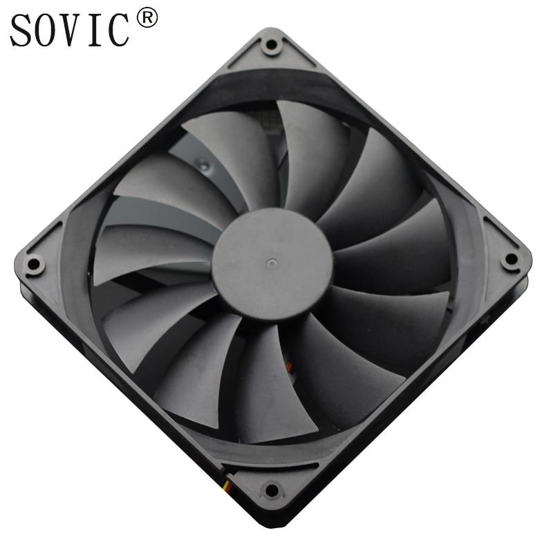 3PIN 140mm DC 12 V 4000 RPM minero Mining ventilador para BTC minero Bitcoin Antminer S7 S9 bajo Ruido potente servidor refrigerador