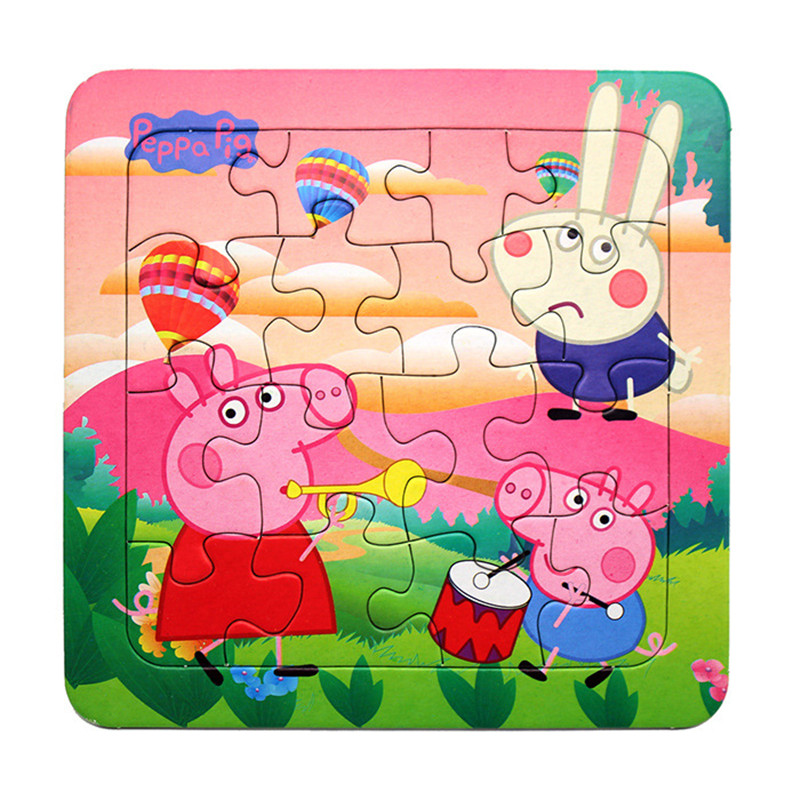 baby kids toys cute cartoons animals cars various paper jigsaw puzzle toy children intelligence early educational