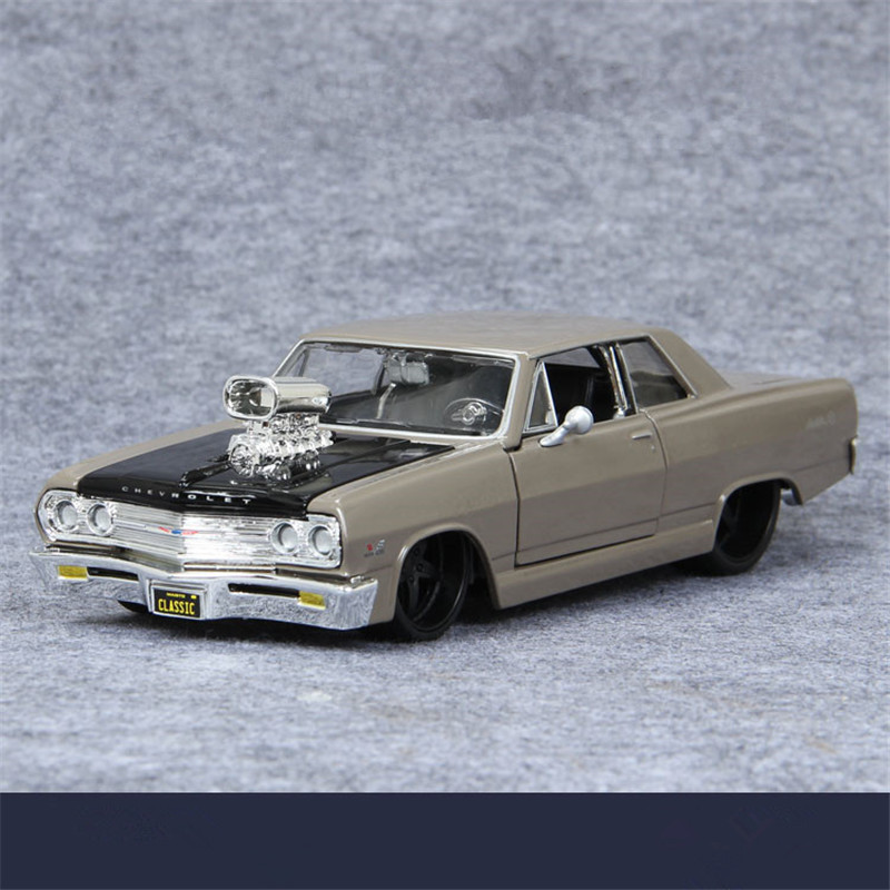 ФОТО Maisto Cars Toys, 1:24 Scale 1965 Diecast Metal Cars Models, Car Toy, Doors Openable Brinquedos, Toys For Children