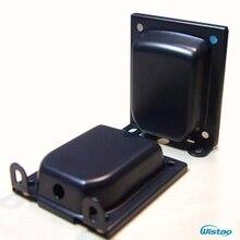 Tampa do transformador Lado Vertical Buracos Distância 80mm X 65mm para 96 Tipo com Pés Shell Espessura 1.2mm para Transformadores de Saída