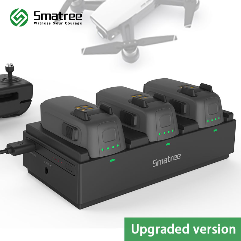 Smatree 92Wh Portable Chargeur Power Station De Charge Hub pour DJI Spark Batterie, Charge 3 Vol Batteries Simultanément