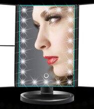 Makeup Magnifier Mirror 2X 3X Tri Folded