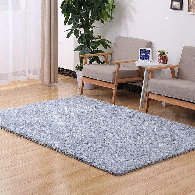 Tapete Doormat Factory Direct Wholesale Modern Minimalist Lamb Cashmere Carpet Mats Bedroom Living Room Table Mat