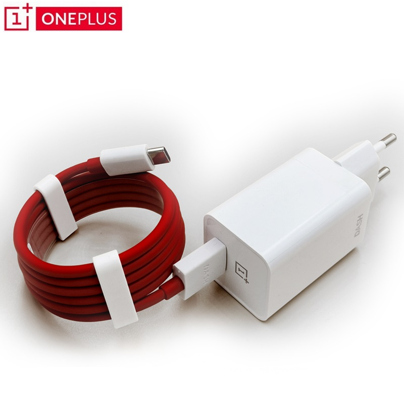 Original Oneplus Dash Charger 5V4A For One plus 6T 5/5T/3/3T Dash Charge Adapter 100cm Round Dash USB Charge Type C Cable