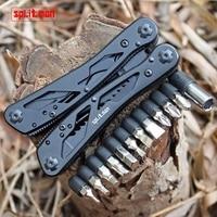 G202B Multi Tools Folding Plier Fishing Camping Outdoor Survival EDC Gear Multitool Pocket Knife Plier Scissors
