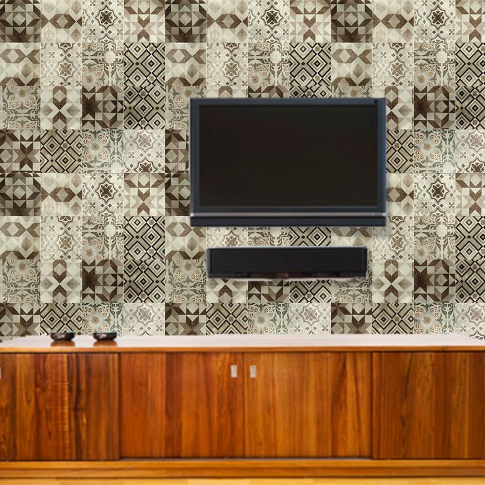 yazi pared de metal etiqueta del panel compuesto de aluminio panel de fondo de pantalla mural de azulejos de pared gruesa casa t