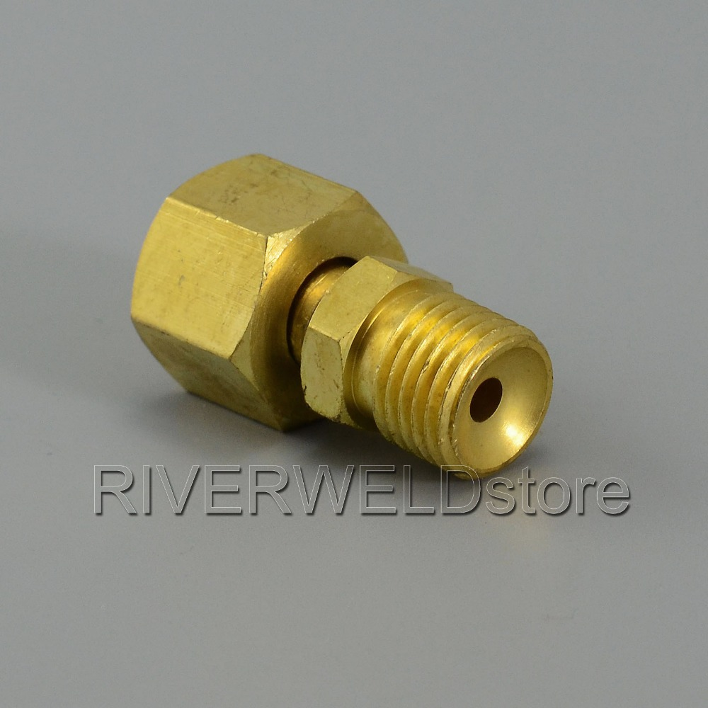 TIG Torch Titting Cable Joint Change M14*1.5 TO M16*1.5 Transition Connector