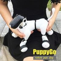 HeLICMax умный робот собака AI электронное домашнее животное мобильное приложение манипуляция Bluetooth подключение динамик мульти функция подарок