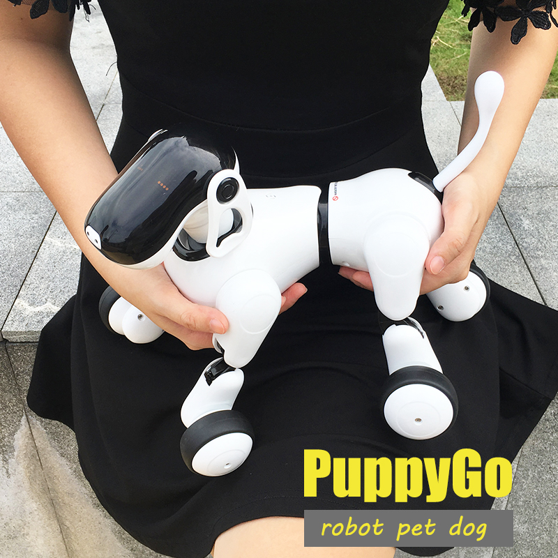 HeLICMax intelligent Robot Dog AI Electronic Pet Mobile APP manipulation Bluetooth Connect Multi function robot Birthday Gift