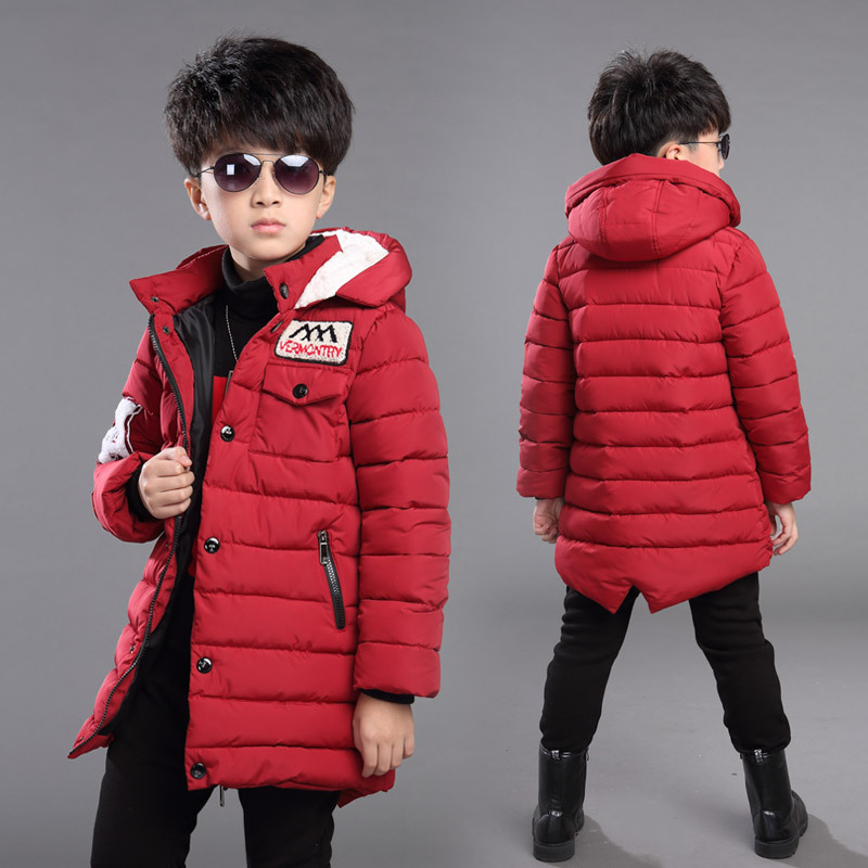 Baby Boys Jackets 2018 Autumn Winter Jackets Boys Parkas Coat Kids Warm Outerwear For Kids Down Coats Outfits Children Clothes стоимость