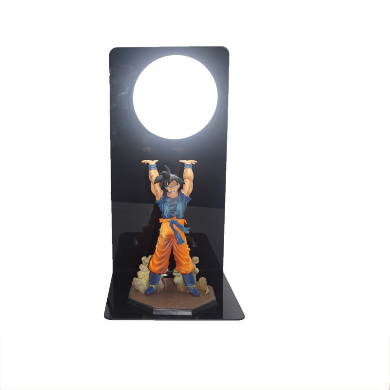 110V 220V Dragon Ball Son Goku Strength Bombs Led Night Lamp Luminaria Night Lights For Home Decoration Lighting In EU US Plug 2018 3m 220v 20pcs car models night lamp kid children room decor paper string lighting holiday lights eu uk plug luminaria