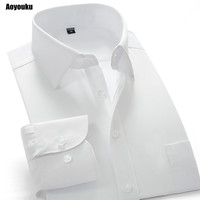 2014 New Spring Autumn Pink Trill Slim Fit Men S Long Sleeve Business Shirts Men S