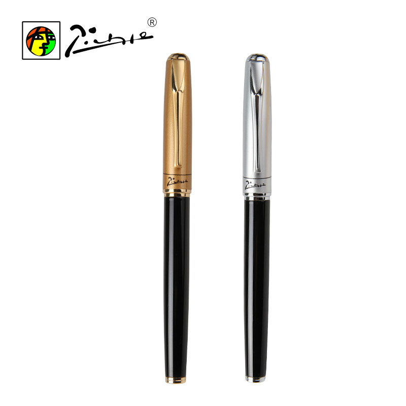Picasso 0.5mm Luxury Pen Fountain Pen with Gift Box Calligraphy Practice Ink Pen Office School Supplies hero fountain pen students with art calligraphy or standard nib adult elbow gift box gift pen with box